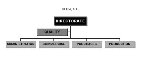 Slica, S.L. Process Map